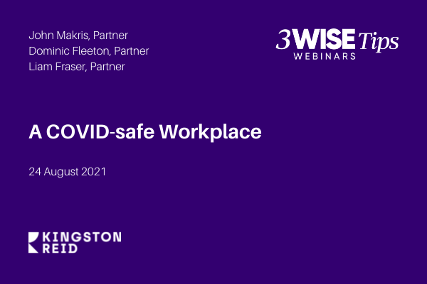 A COVID-safe Workplace